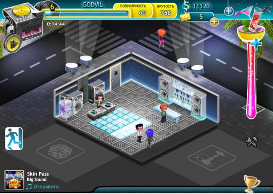Игра клубная жизнь в социальной сети
