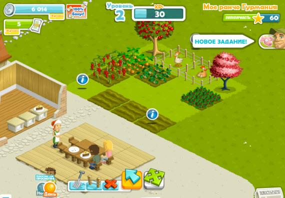 игра ранчо гурмания