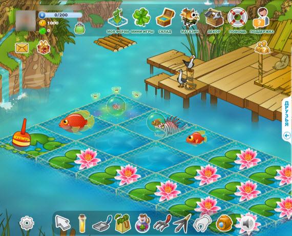 игра рыбный фермер